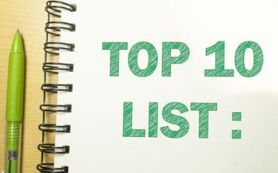 The Joy of Lists: Part 1